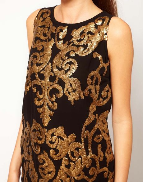 Black Glitter Dress River Island - Make Your Evening Special