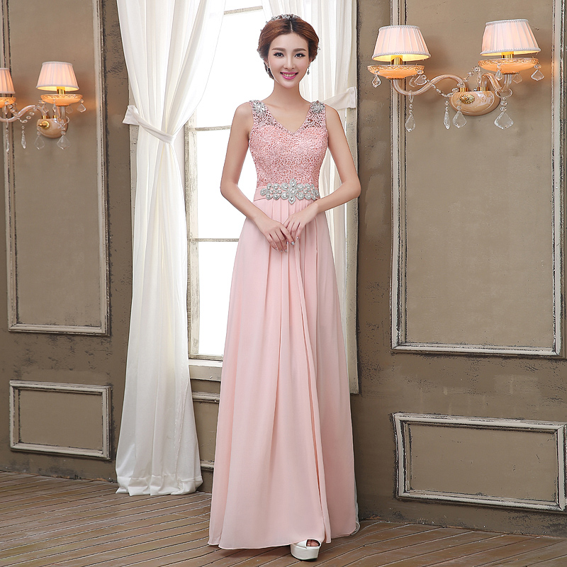 a9ddd3ef661 Blush Bridesmaid Dresses Cheap And Fashion Show Collection – FashionMora