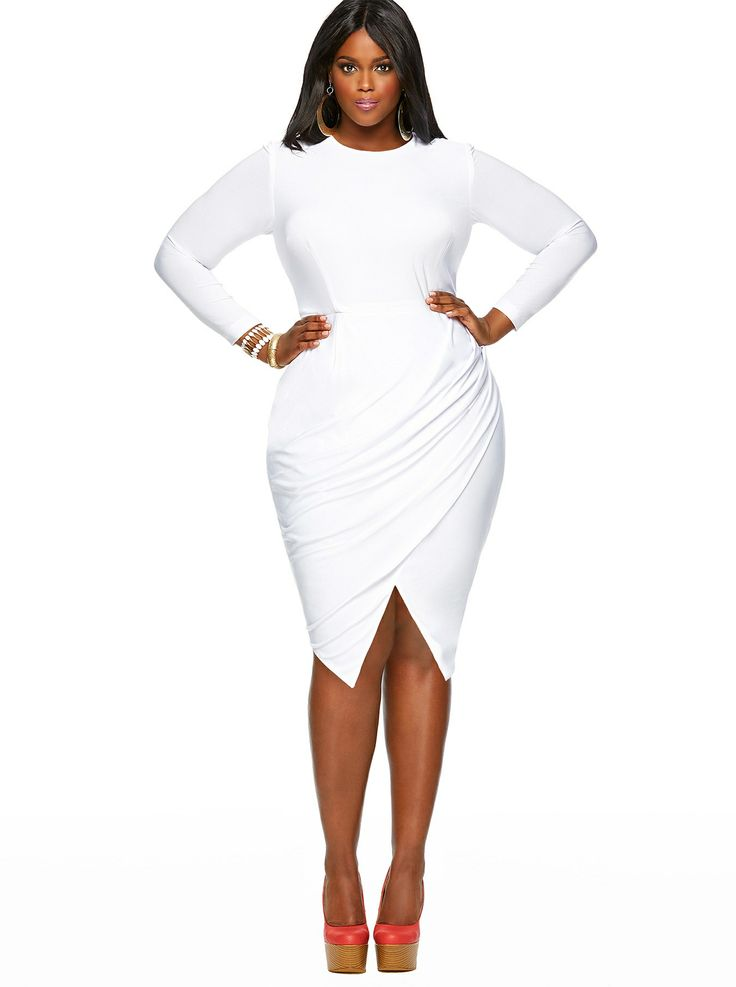Cheap Plus Size White Party Dresses Trend 2017 2018 Fashionmora