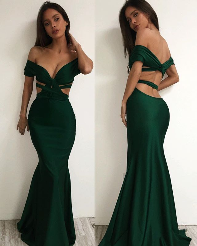 Emerald And Gold Dress : Make You Look Like A Princess