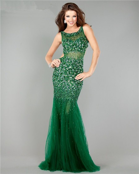 Emerald Mermaid Prom Dress And How To Look Good 2017-2018