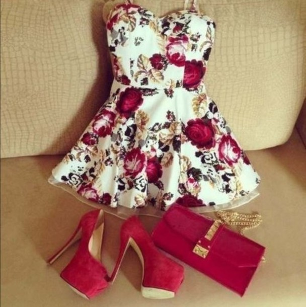 Girls Floral Print Dress : Fashion Forecasting 2017
