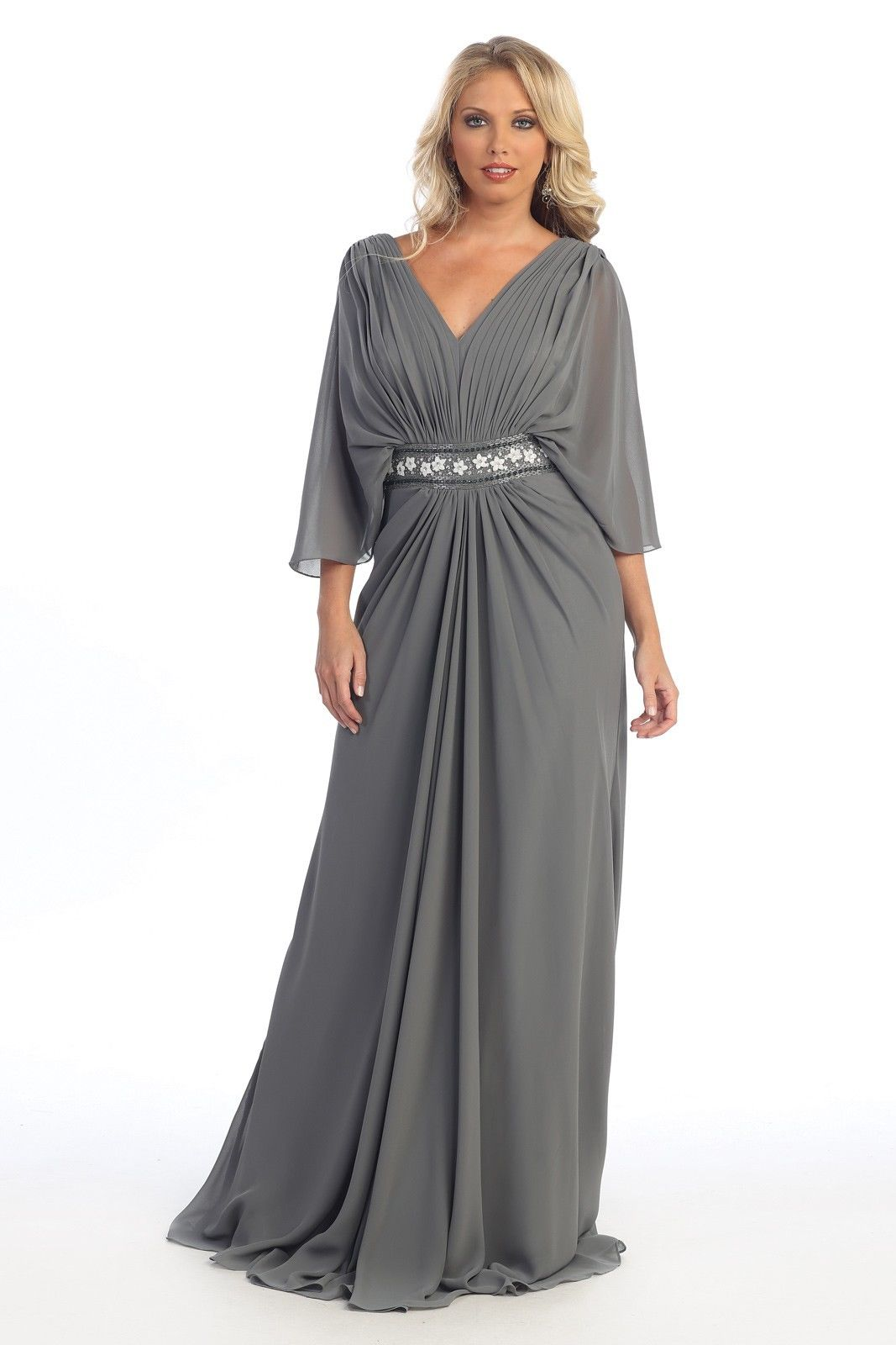 Long Sleeve Fitted Dress Plus Size : Make You Look Like A Princess