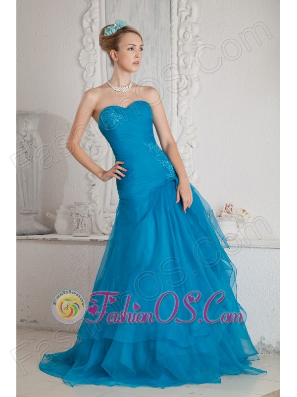 Prom Dresses Teal Color - Make You Look Like A Princess