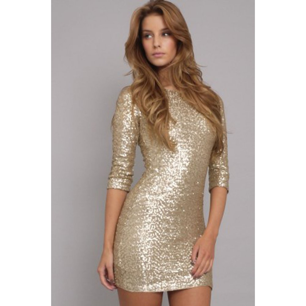 Silver And Gold Sequin Dress Amp Spring Style Fashionmora