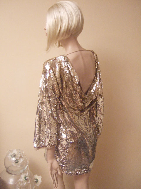 Silver And Gold Sequin Dress Spring Style Fashionmora