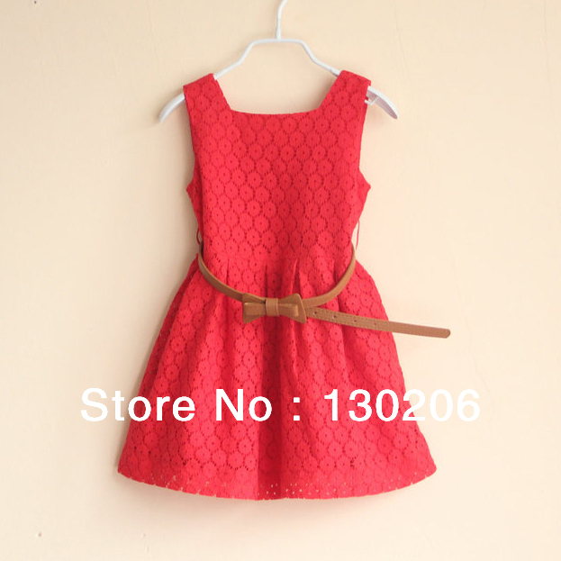 White And Red Baby Dress : Review Clothing Brand