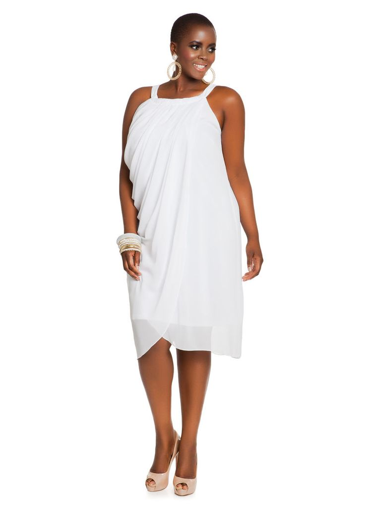 White Party Plus Size Dresses – Help You Stand Out – FashionMora