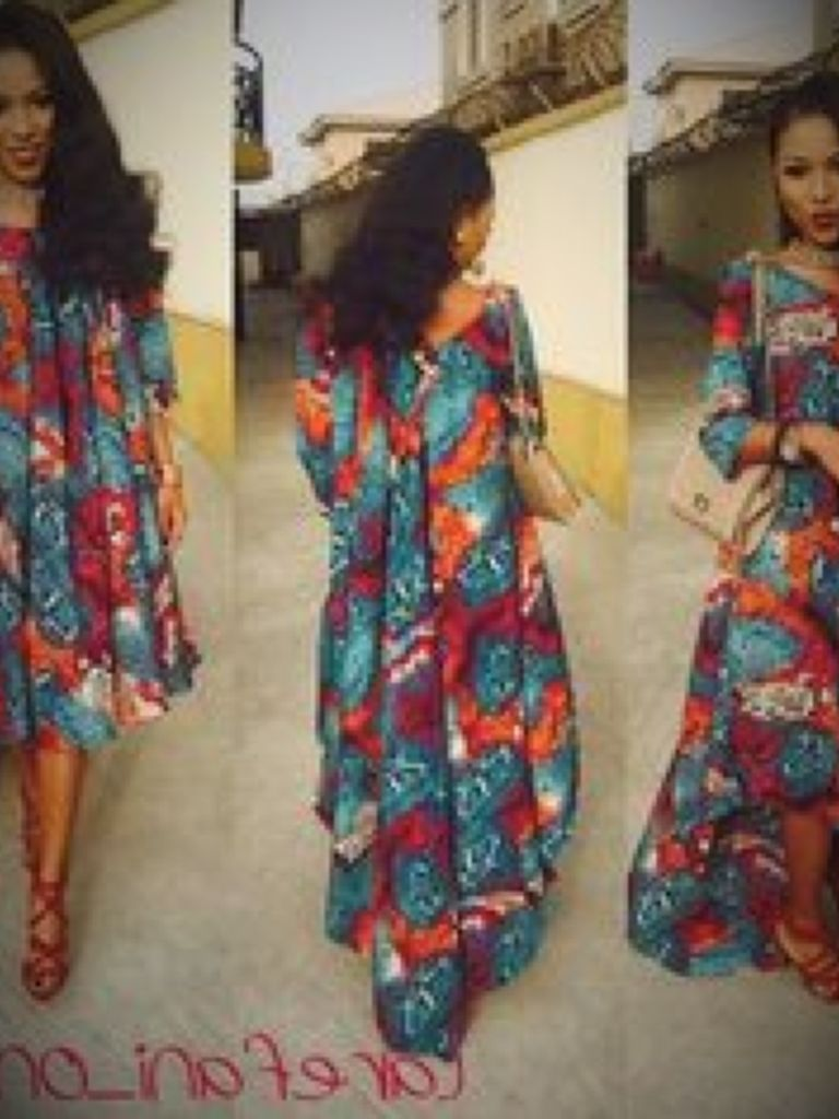 African Print Dresses For Pregnant Ladies