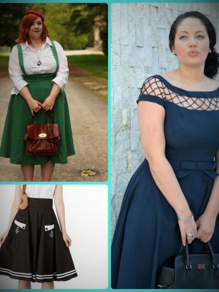Cheap Plus Size Rockabilly Dresses