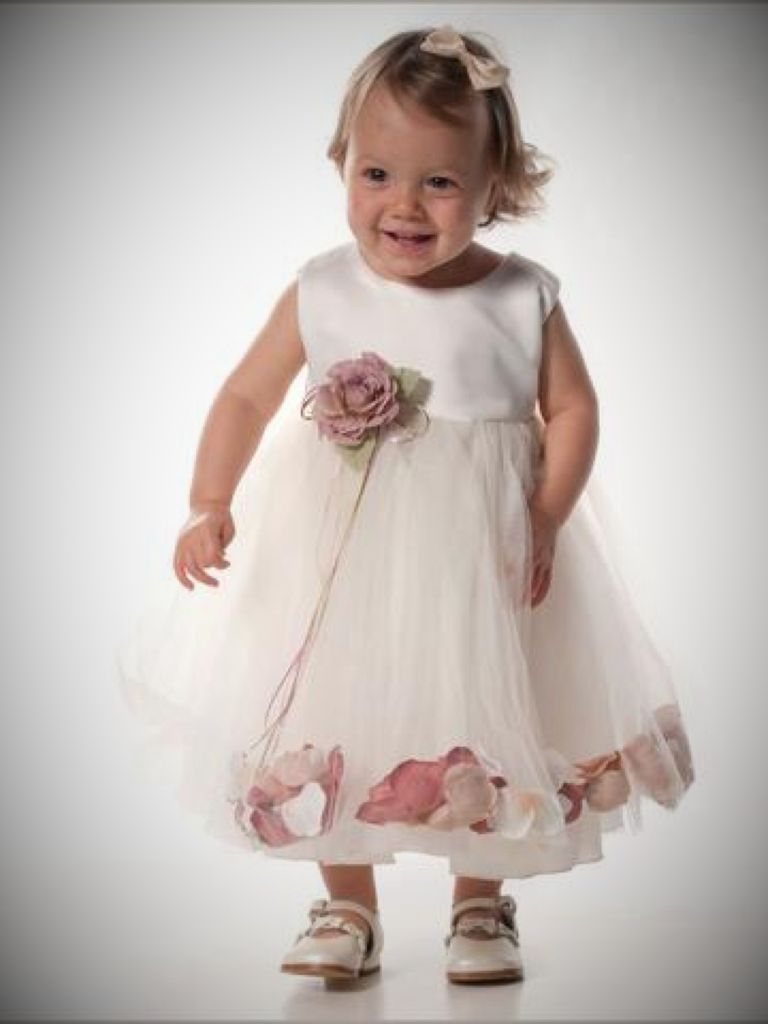 Dusky Pink Flower Girl Dress And Overview 2017 Fashionmora