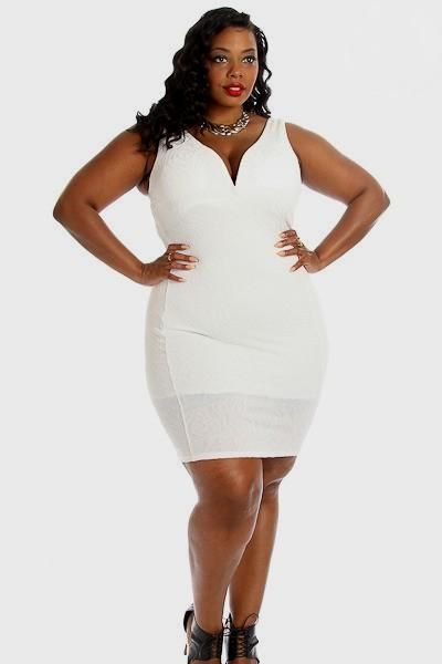 All white plus size attire new orleans evening