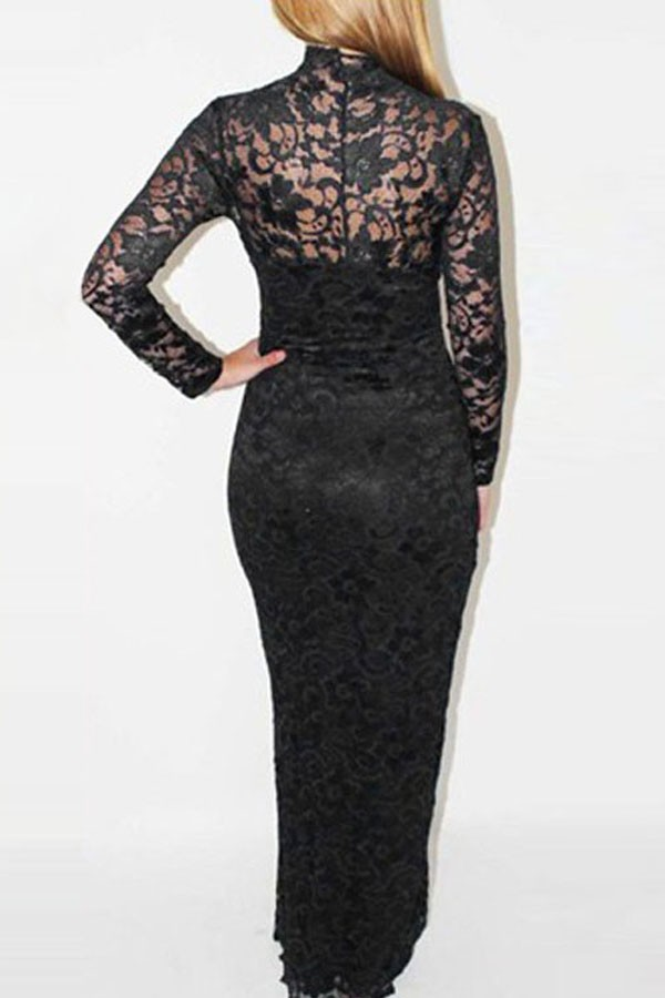 Black Dress Lace Overlay And Always In Vogue 2017