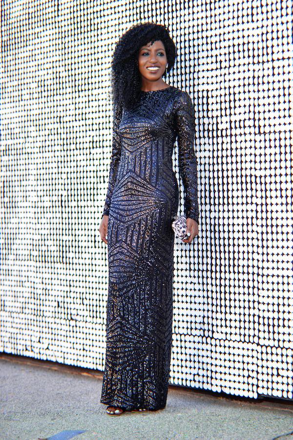 Black Sequin Dress River Island : Fashion Forecasting 2017