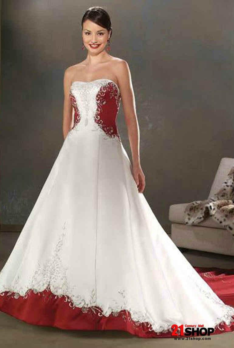 Bridal Dresses In Red & Fashion Show Collection