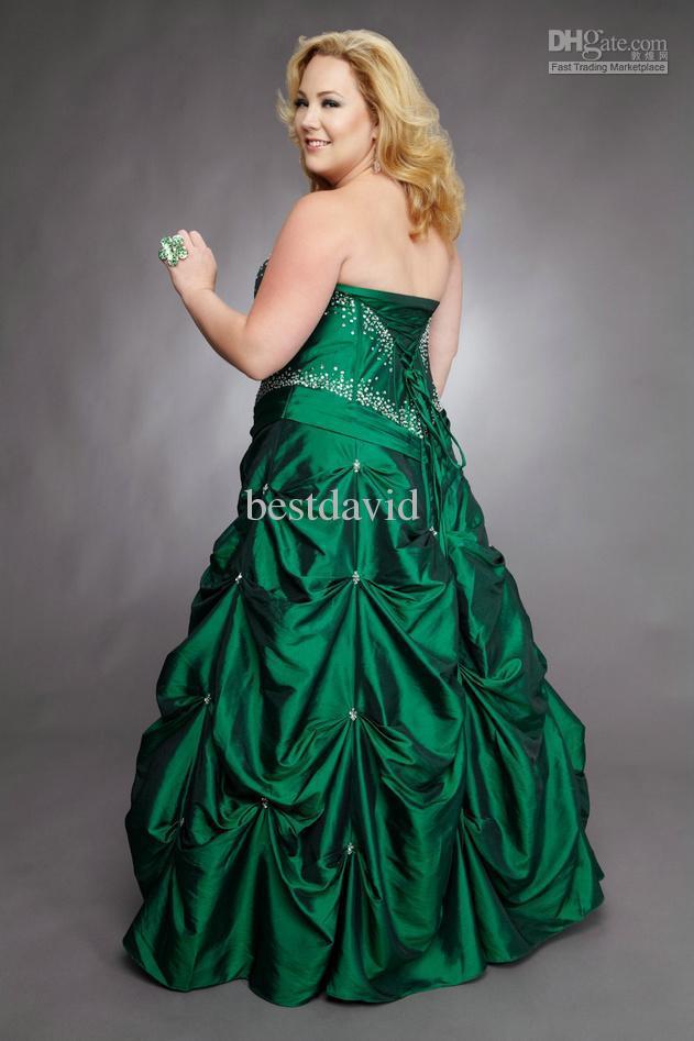 Emerald Ball Dress & Spring Style