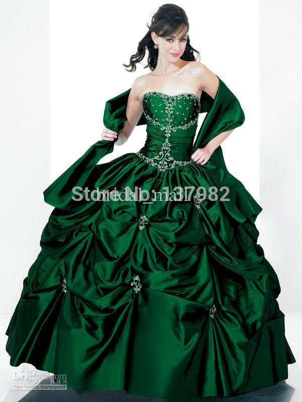Emerald Green Grad Dress : Special In 2017-2018