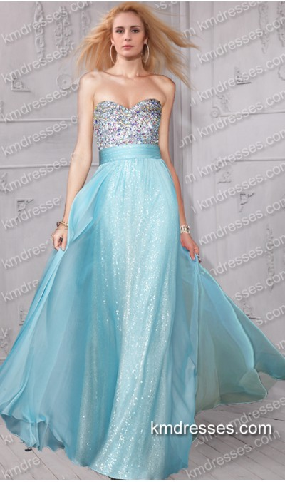 Floor Length Sequin Gown Better Choice 2017 Fashionmora