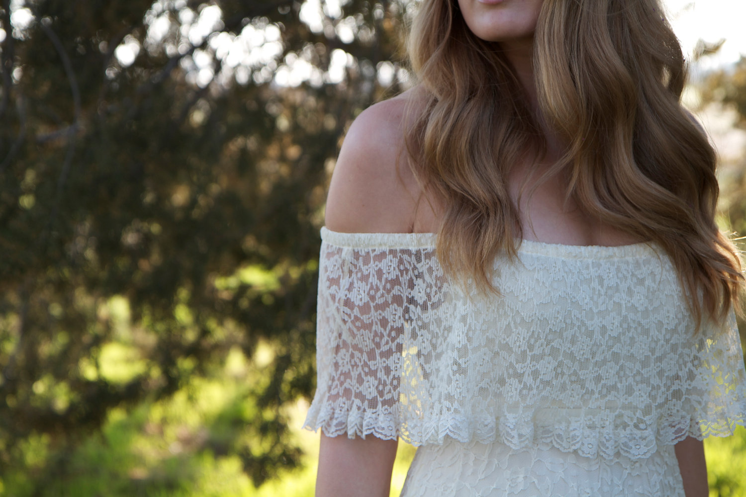 Lace Off Shoulder Gown & Simple Guide To Choosing