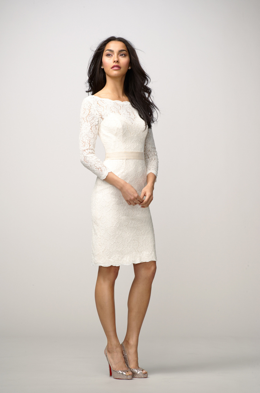 Lace Top White Dress & Be Beautiful And Chic