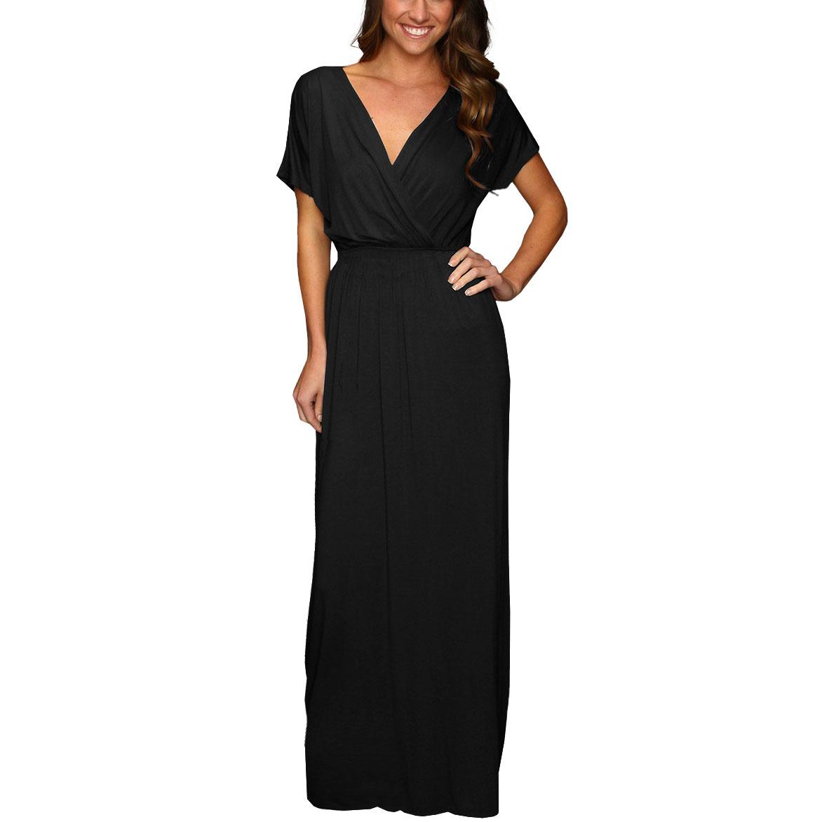 Long Jersey Maxi Dress & Make Your Evening Special