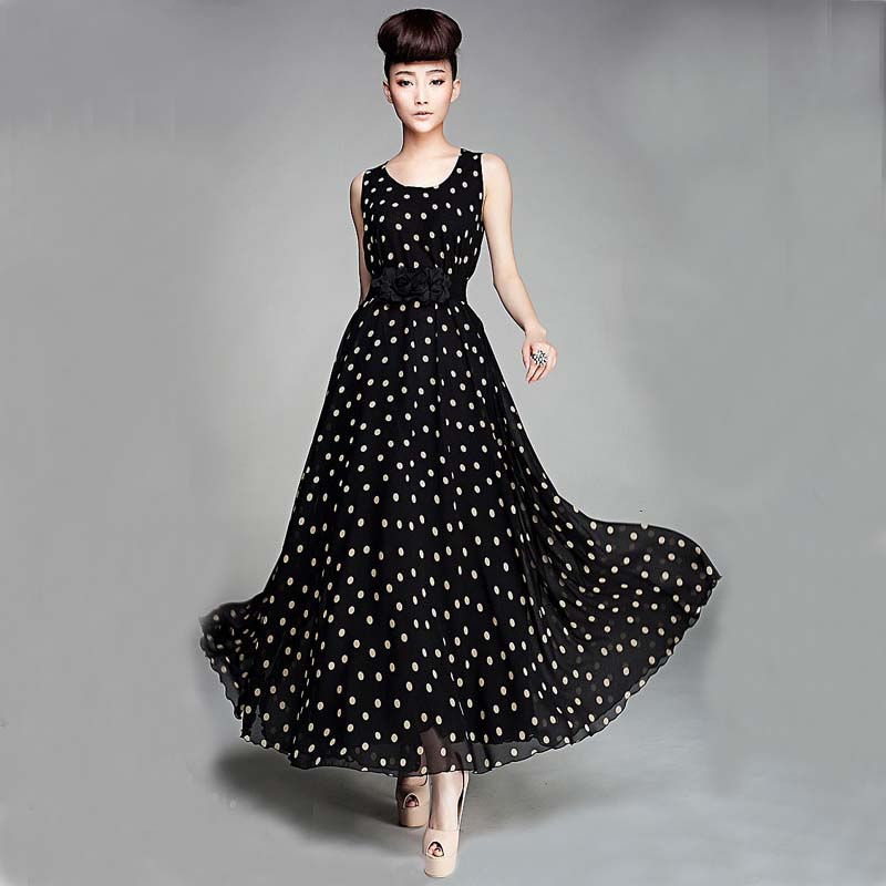 One Piece Dress In Black & Beautiful And Elegant