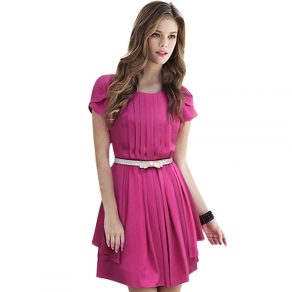 One Piece Dress With Belt & Fashion Week Collections