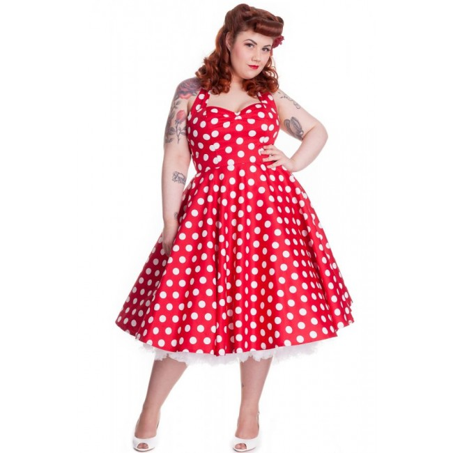 Plus Size Red And White Dress – How To Get Attention ...