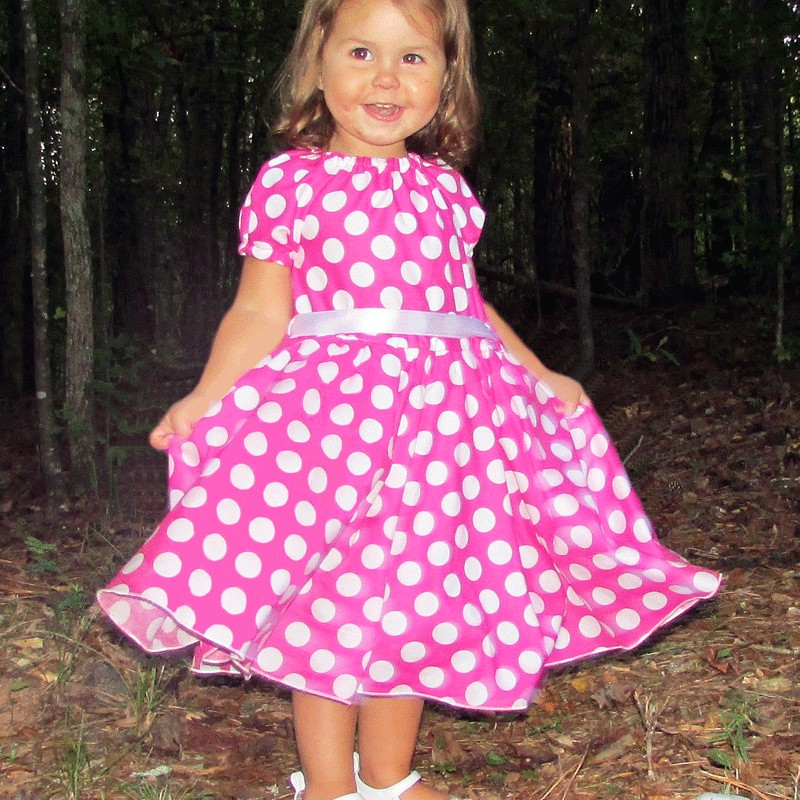Red Polka Dot Baby Dress & Special In 2017-2018