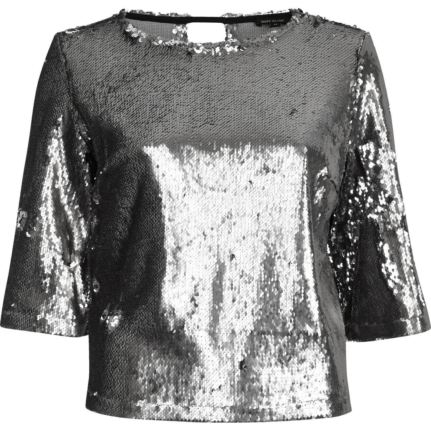 River Island Grey Sequin Dress : Special In 2017-2018