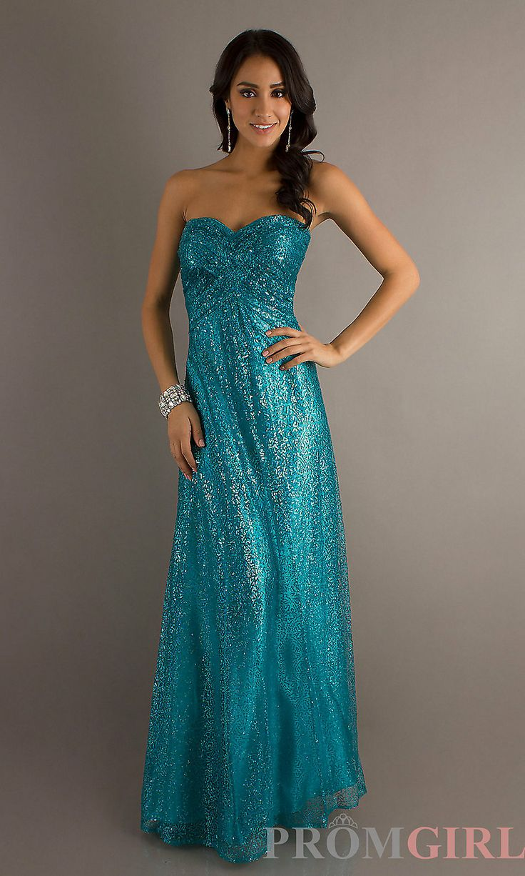 Teal And Gold Prom Dress : Look Like A Princess 2017