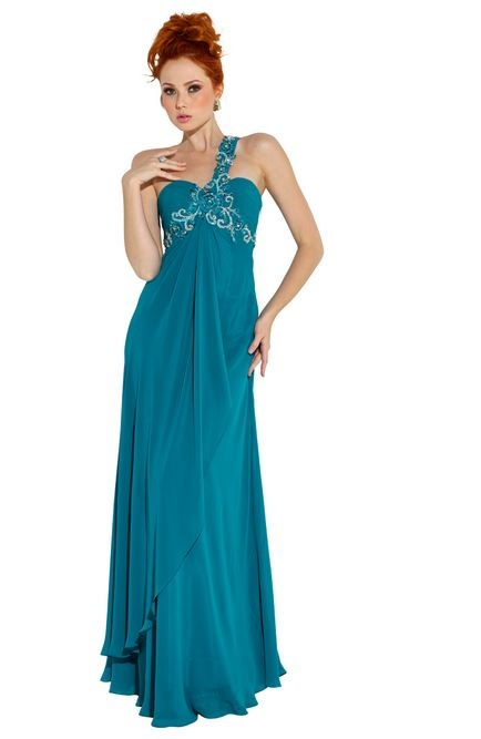 Teal Long Prom Dresses & Different Occasions