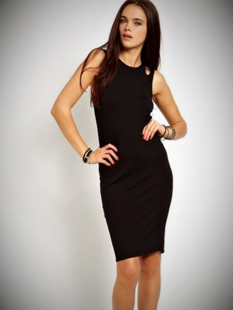 One Shoulder Cut Out Dress - Make You Look Like A Princess