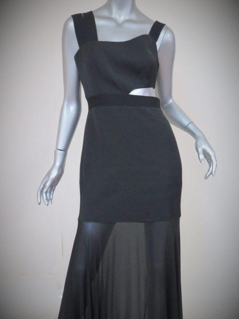 One Shoulder Cut Out Dress - Make You Look Like A Princess