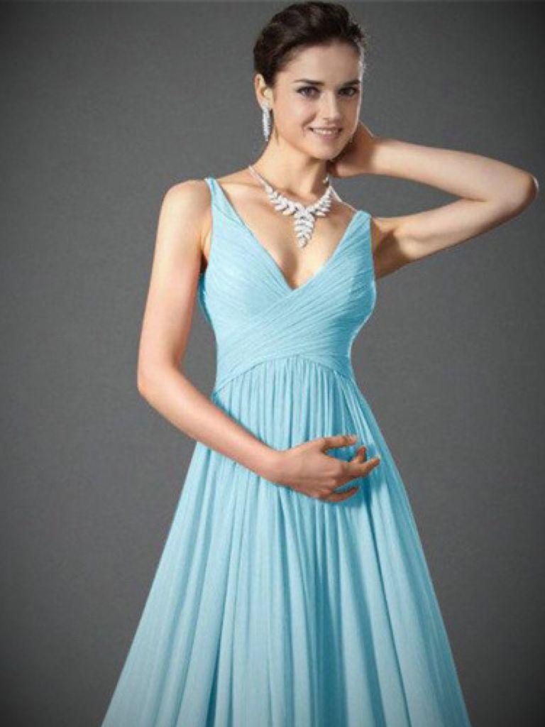 Pale Blue Maxi Dress Uk: Spring Style